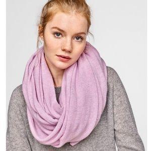 White Warren 100% Cashmere Lilac Rose Travel Wrap